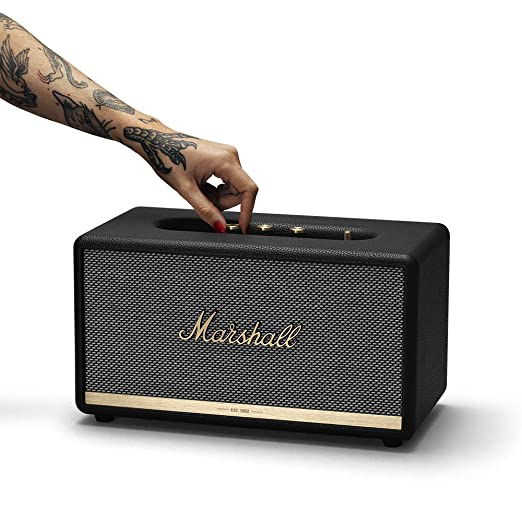 Marshall Stanmore II - Altavoz Bluetooth, color negro: Amazon.es: Electrónica