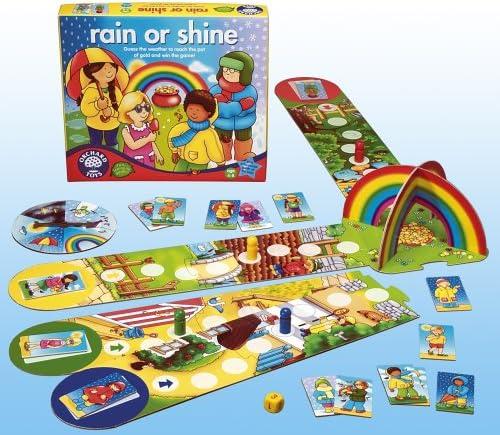 Orchard Toys Rain Or Shine Amazon Co Uk Toys Games Bu oyun ile çocukların dikkat, konsantrasyon, odaklanma, hafıza, eşleştirme becerilerini geliştirirken oyunu oynarken hayvanları ile ilgili genel kültür bilgileri. orchard toys rain or shine amazon co