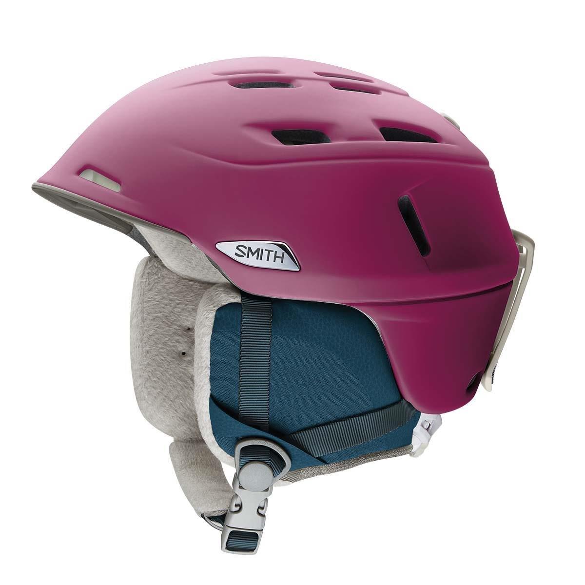 Smith OpticsコンパスMIPS大人用スキースノーモービルヘルメット – メタリックPepper B074KP4LYY  Matte Grape Small