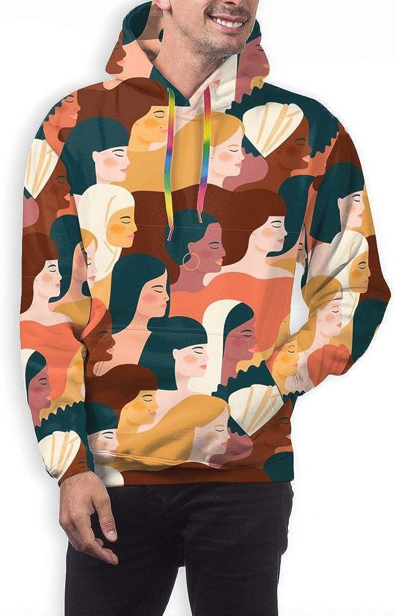 International Womens Day Mens Funny 3D Printed Hoodies Pullover Hooded Top Winter Sweatshirt