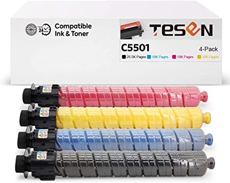 Ricoh MP C305 toner set of 4 K//C//M//Y NEW!