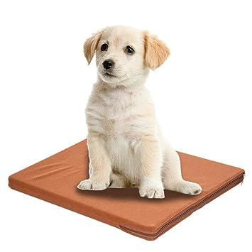 Alfombrilla de refrigeración para mascotas de 38 x 29 x 2,5 cm, con