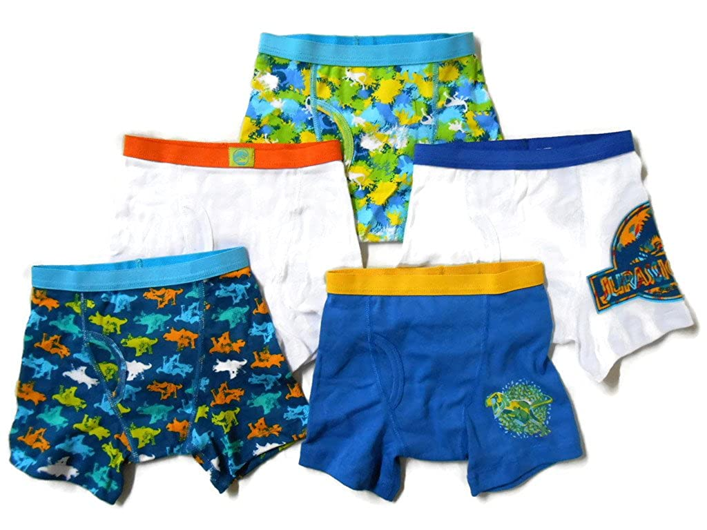 Handcraft Boys' Jurassic Park 5pk Boxer Briefs Handcraft Boys 2-7 BBP1203