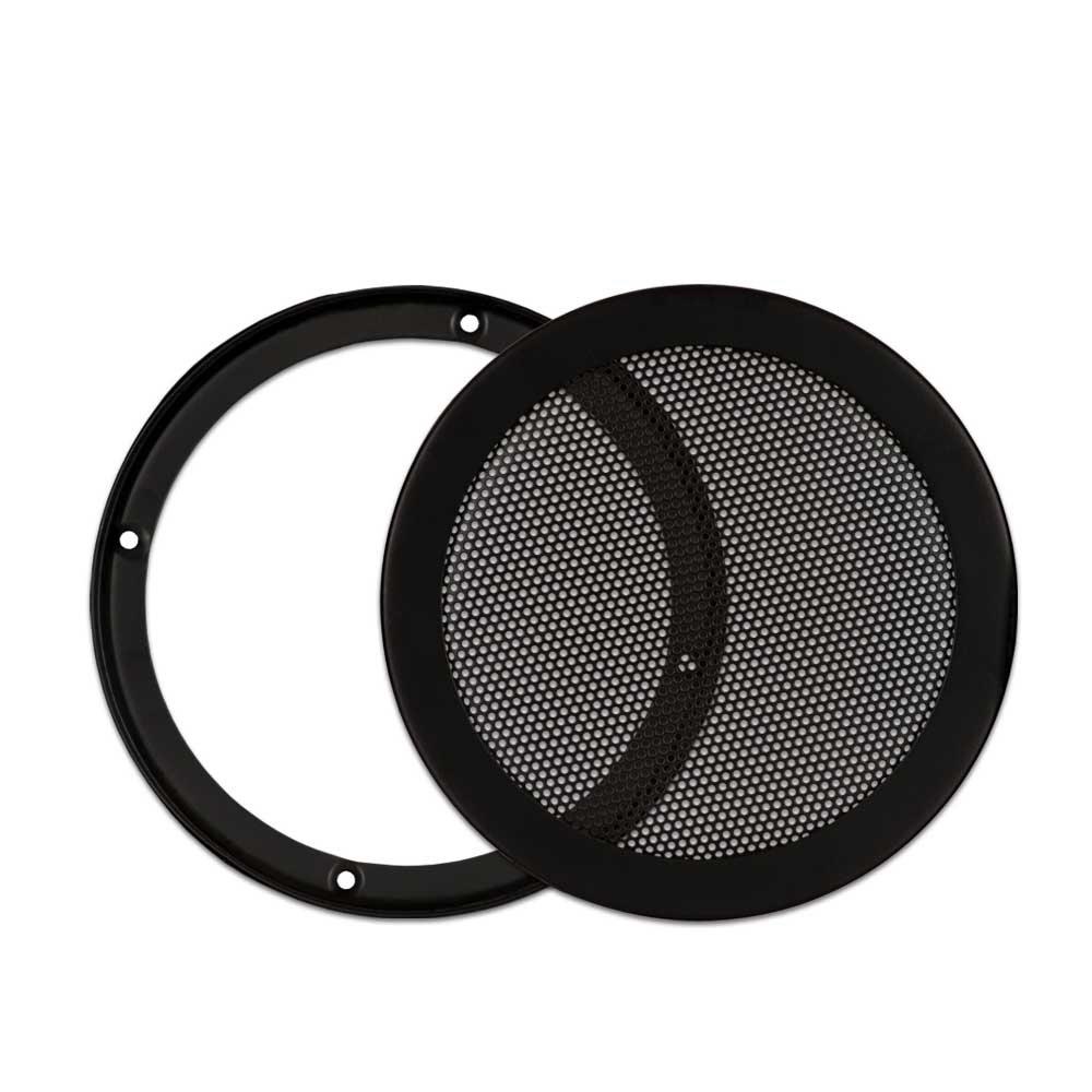 Goldwood Snap On 6.5'' Subwoofer Grille Steel Mesh Speaker Black (SGM6)