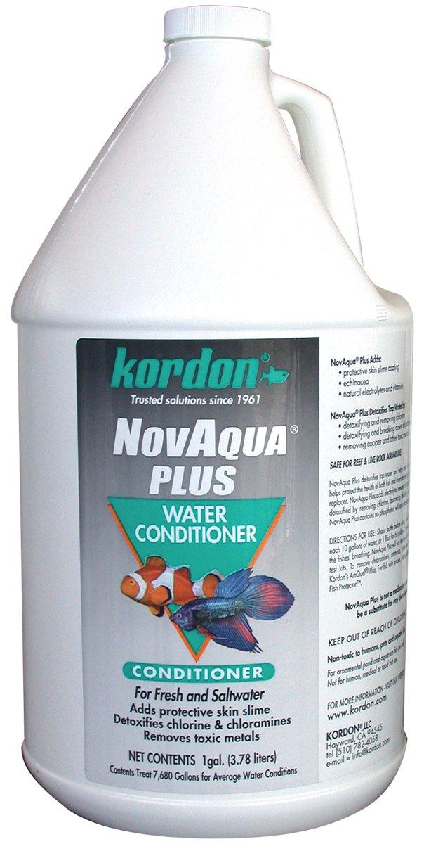 Kordon #33162 Novaqua Plus-Water Conditioner for Aquarium, 1-Gallon ONLY by Kordon/Oasis