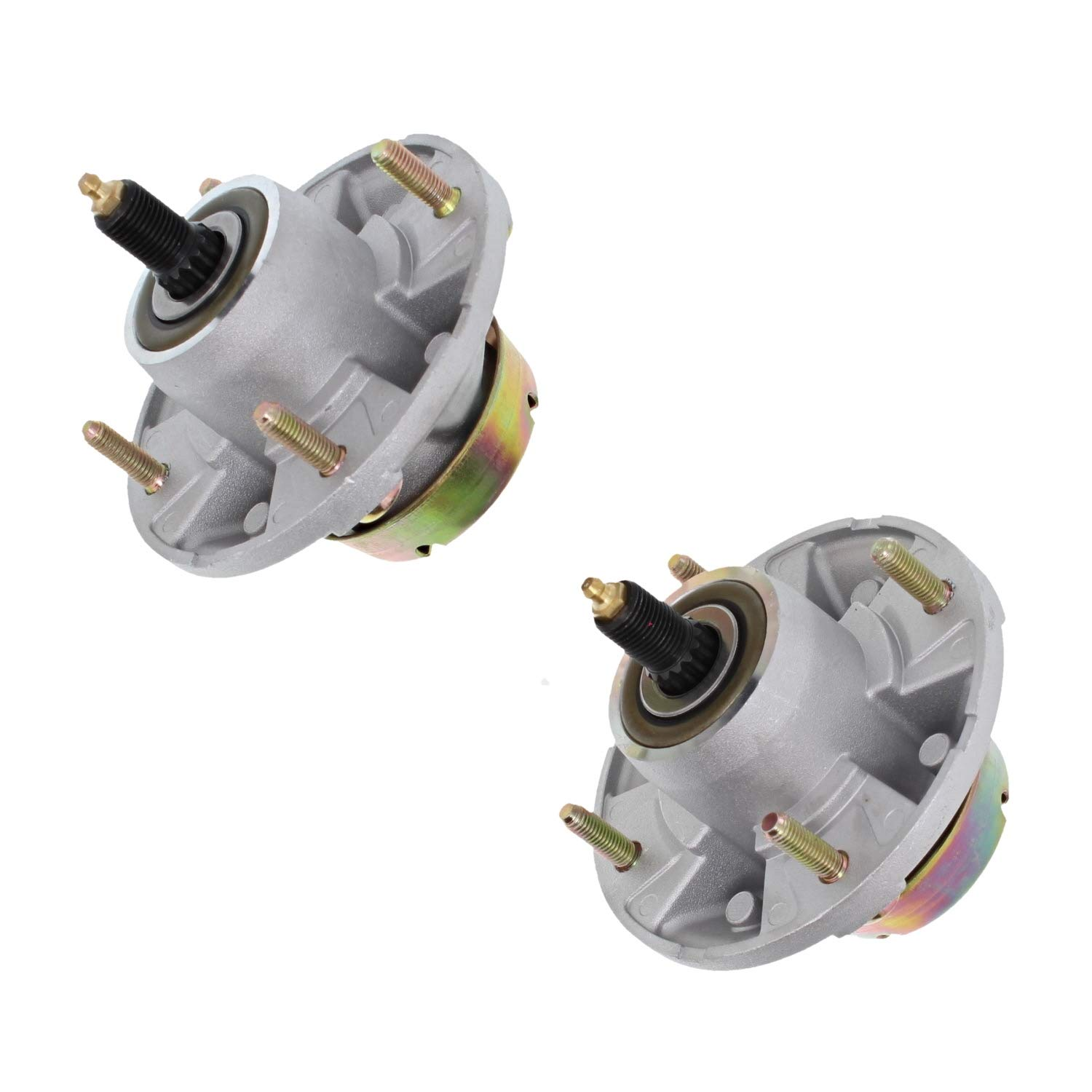NICHE 2 Pack Spindle Assembly for John Deere 48 54 60 72 Deck AM135349 AM144377
