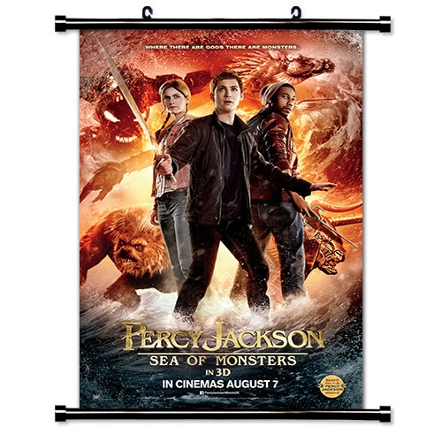 Percy Jackson Sea of Monsters Movie 2013 Fabric Wall Scroll Poster (16