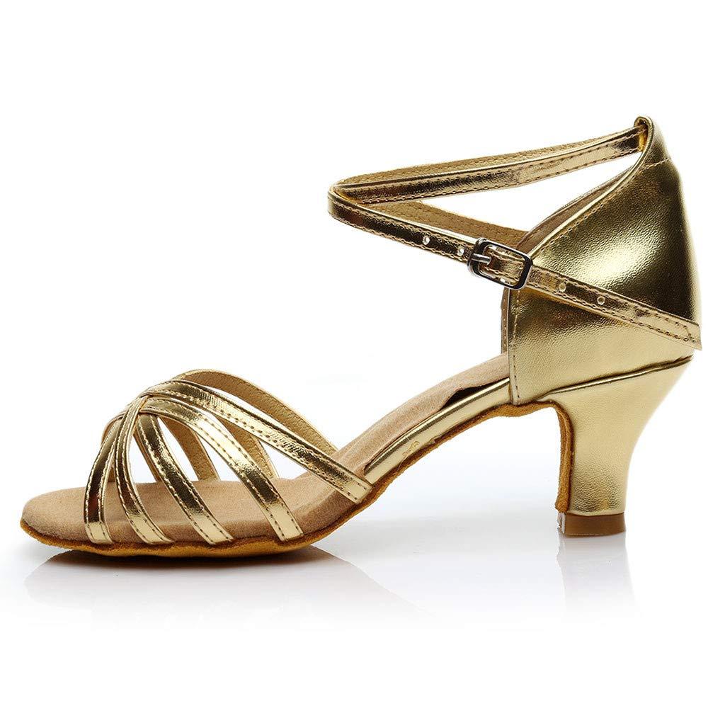 Pandaie Womens .. Sandals Womens Color Fashion Rumba Waltz Prom Ballroom Latin Salsa Dance Shoes Sandals