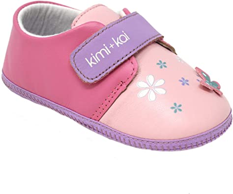 Babys shop Baby Shoes Girls First Walker Butterfly Soft Sole Toddler Prewalker Shoes