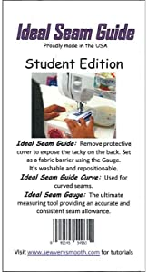 Sew Very Smooth Seam Guide Kit Student Edition
