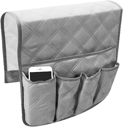 Home Sofa Armrest Caddy Pocket Organizer Chair Remote Control Holder Storage Bag