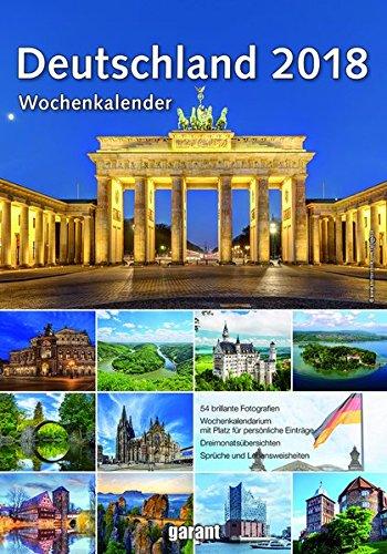 Wochenkalender Deutschland 2018