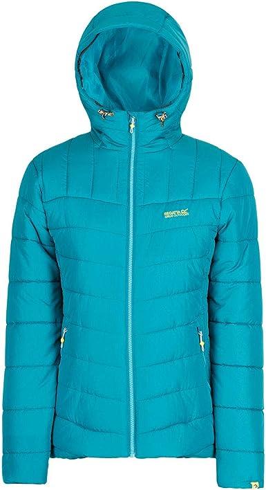 Regatta Nevado II Womens Down Jacket Blue Hooded 14 16