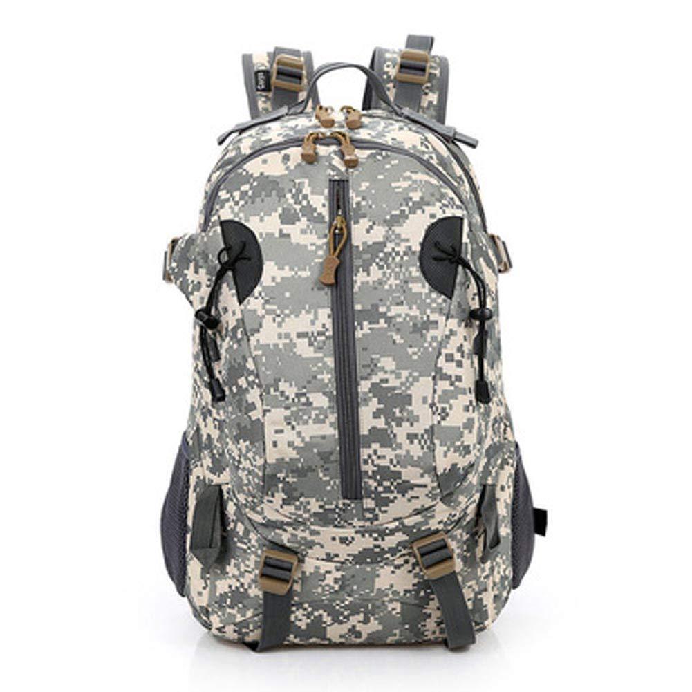 Camouflage1  Sac à dos extérieur en nylon imperméable, sac à dos pour hommes en plein air, sac à dos de sport imperméable à l'eau, sac à dos de grande capacité pour la survie en camping