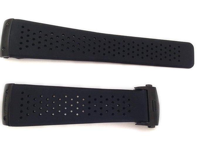 TAG Heuer Correas de reloj en plástico negro ...
