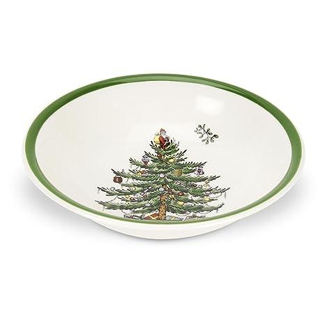 Spode Christmas Tree Cereal/Oatmeal Bowl, Set of 4 - Amazon.com: Spode Christmas Tree Cereal/Oatmeal Bowl, Set Of 4