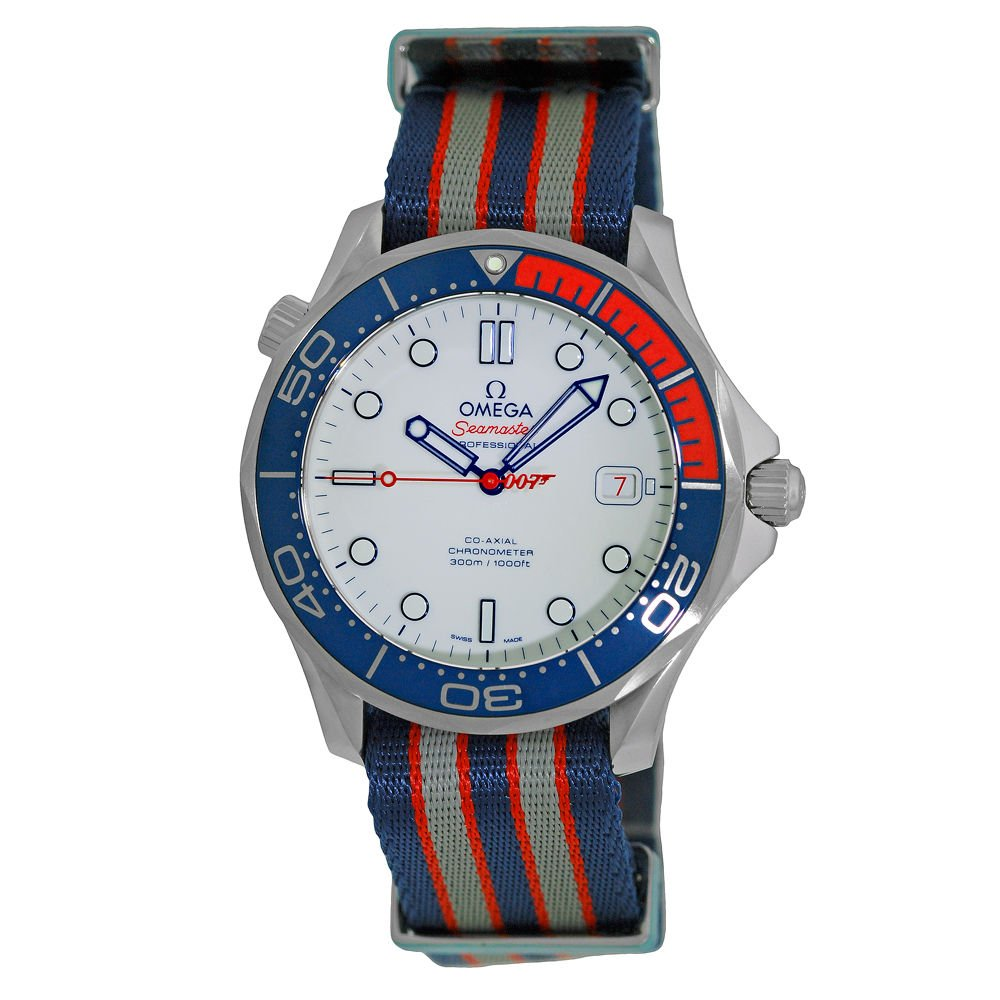 Omega James Bond 007 automático Mens Reloj 212.32.41.20.04.001: Amazon.es: Relojes