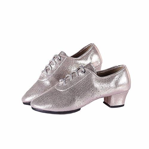 Zapatos Baile Adulta Xiao123 School De Hembra Latino Middle hQrosCdxBt