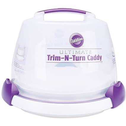 Wilton Decorate Smart Ultimate Trim-N-Turn Cake Caddy