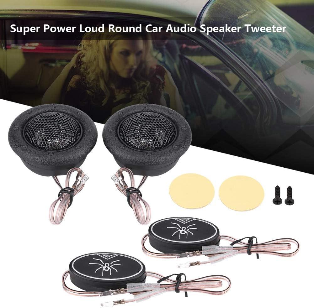 Car Audio Tweeters,Pair of 12V 150W Car Mini Super Power Loud Dome Audio Speaker Tweeter Loudspeaker Horn