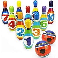 Ocamo Juego de Bolos de Espuma para el Desarrollo de la educación temprana, Juguetes de Interior para niños