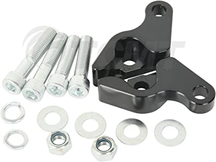 Front Rear Lowering Slammer Suspension Drop Kit 10.5 Compatible with Harley Touring 84-13 HTTMT LS002