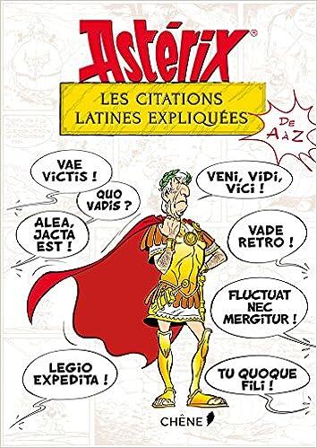 Amazon Fr Asterix Les Citations Latines Expliquees