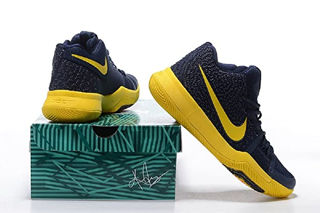 8257c50183fb ... greece nike kyrie 3 ep navy yellow basketball shoes buy online at low  prices in india