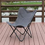 PatioPost Butterfly Camping Chair Ergonomic High