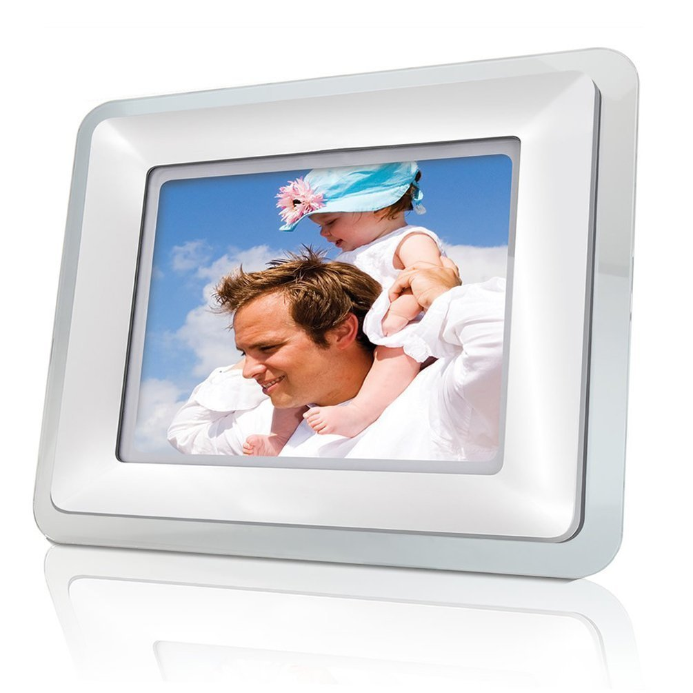 Amazon.com : Coby DP-769 7-Inch Widescreen Digital Photo Frame with MP3  Player & 2 Frames : Digital Picture Frames : Camera & Photo