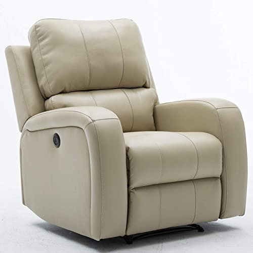 Bonzy Home Power Recliner Chair Air Leather
