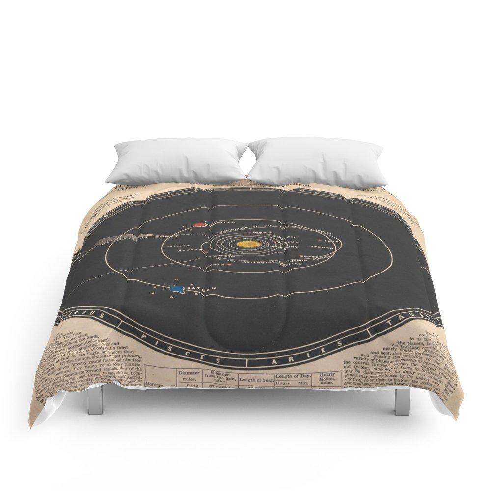 Society6 Solar System Comforters Full: 79'' x 79''