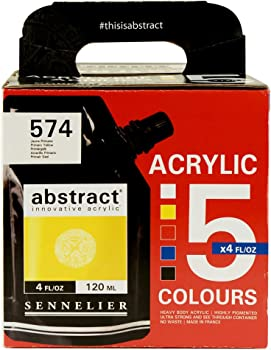 Sennelier Abstract Innovative Heavy Body Acrylic Paint Set