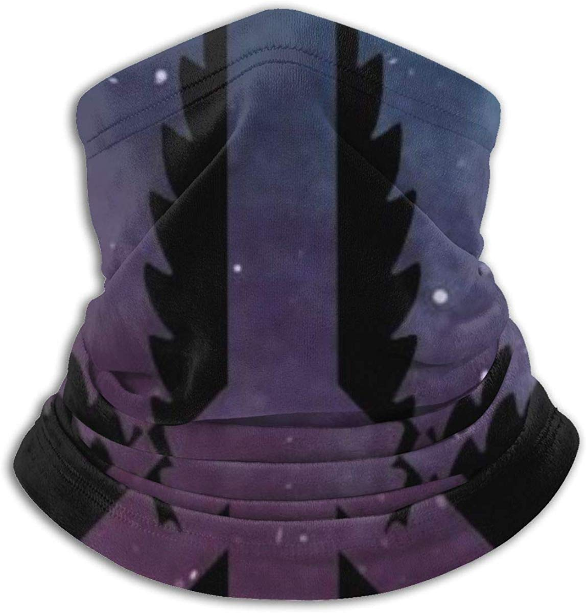 Galaxy 420 Cannabis Peace Fleece Neck Gaiter Warmer Winter Windproof Ski Face Mask Balaclava Half Mask For Women Men