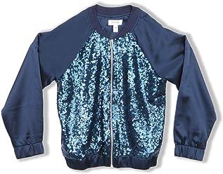 9241a293b59 Speechless Girls  Big Sequin Front Lightweight Jacket