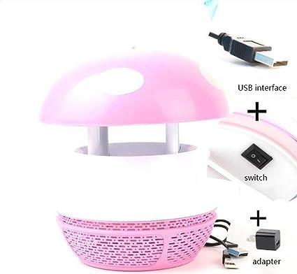 LED Seta Mosquito Killer Dormitorio Embarazo y protección del medio ambiente Moscas y moscas Fotocatalizador Hogar