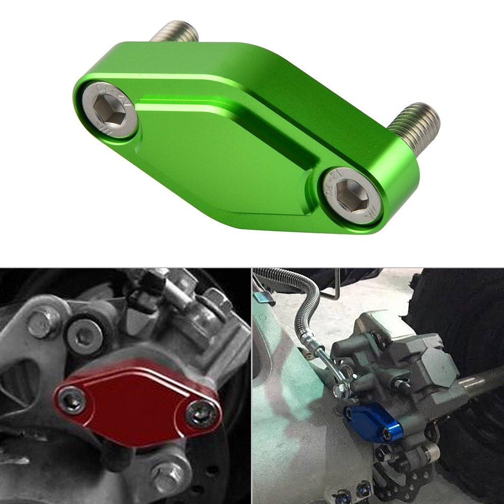 NICECNC Black CNC ATV Parking Brake Block Off Plate for Raptor 125,250,350,660,700,YFZ450//450R//X,Warrior 350,Banshee 350,TRX 450R//400EX//300EX,LTZ 400//LTR 450,KFX 400//450