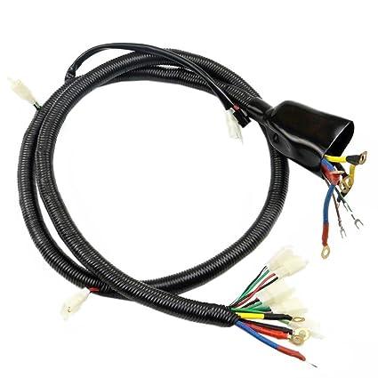 amazon com: zxtdr wire harness loom wiring for brushed electric go kart  bike bicycle: automotive