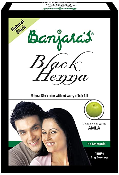 3da28c64c Buy Banjaras Black Henna with Amla Hair Colour, 10g (Pack of 5) Online at  Low Prices in India - Amazon.in