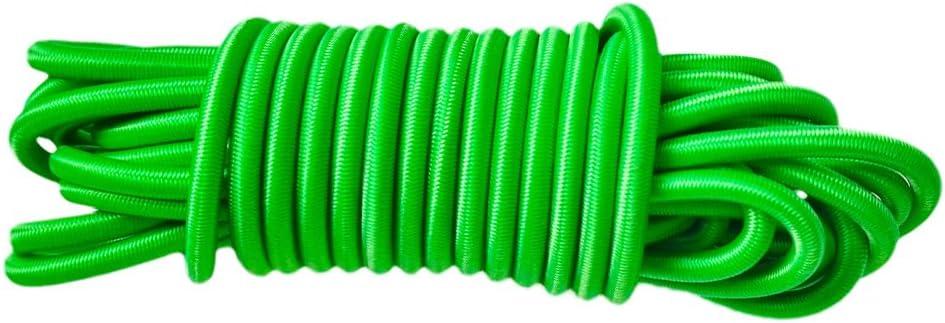 blanc 10m // 32.8ft CUTICATE Sandow Tendeur Corde Elastique en Latex R/ésistance UV pour Barres de Toit Tapis de Sol B/âche Bateaux Kayak 4mmx10m