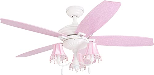 Prominence Home Elsa 48″ Pink Ceiling
