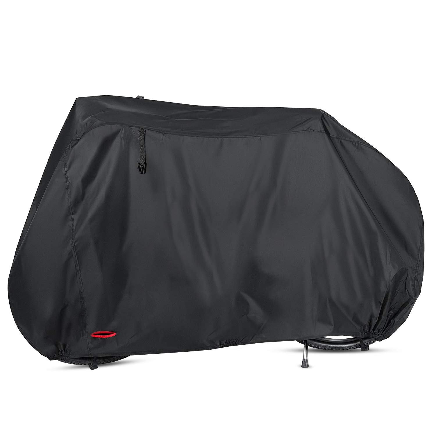 Waterproof Bike Cover 29 Inch Heavy Duty 210D Oxford Bicycle Cover with Double stitching & Heat Sealed Seams, Protection from UV Rain Snow Dust for Mountain Road Electric Bike Hybrid Outdoor Storage by Anglink (Image #1)