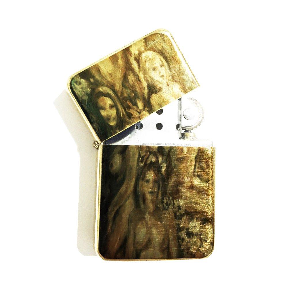 Natural Beauties Painting by Jennifer Payne Gold Flip Top Cigarette Lighter