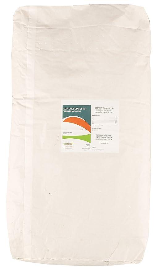 CULTIVERS Tierra de Diatomeas micronizada 1000 kg en 50 sacos de 20 kg. No calcinada de alta pureza, sin tratamientos ni residuos. Apto para todo tipo ...