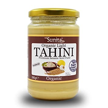 Sunita Greek Sesame Spread Organic Light Tahini 280 G Pack Of 3