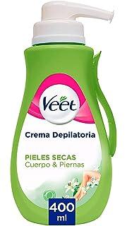 Veet crema depilatoria con aloe vera & vitamina e para la piel ...