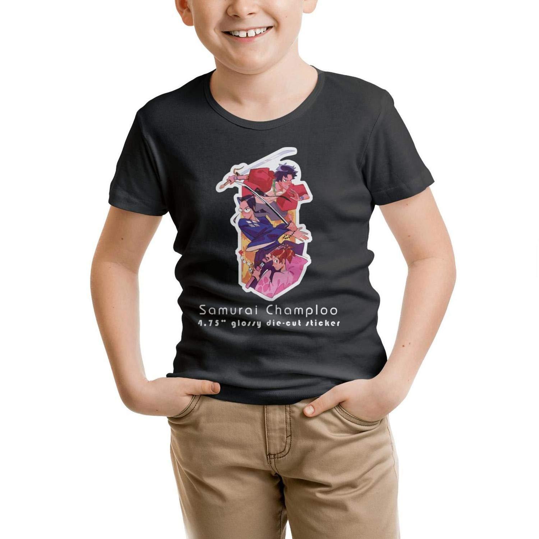 LUJXN Boys Crew Neck T-Shirt Ornate Short Sleeve Uniforms Tees Durable
