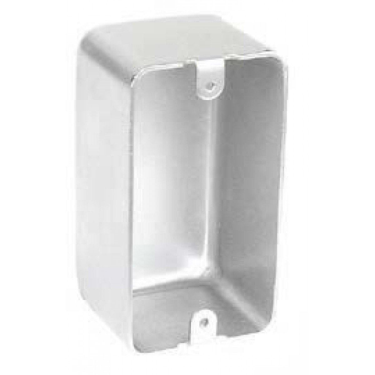 2 Pcs, Blank Handy Utility Box, 2-1/8 In. Deep, 304 Stainless Steel for Convenience Outlets, Switches & Small Junction Boxes In Exposed Work Applications