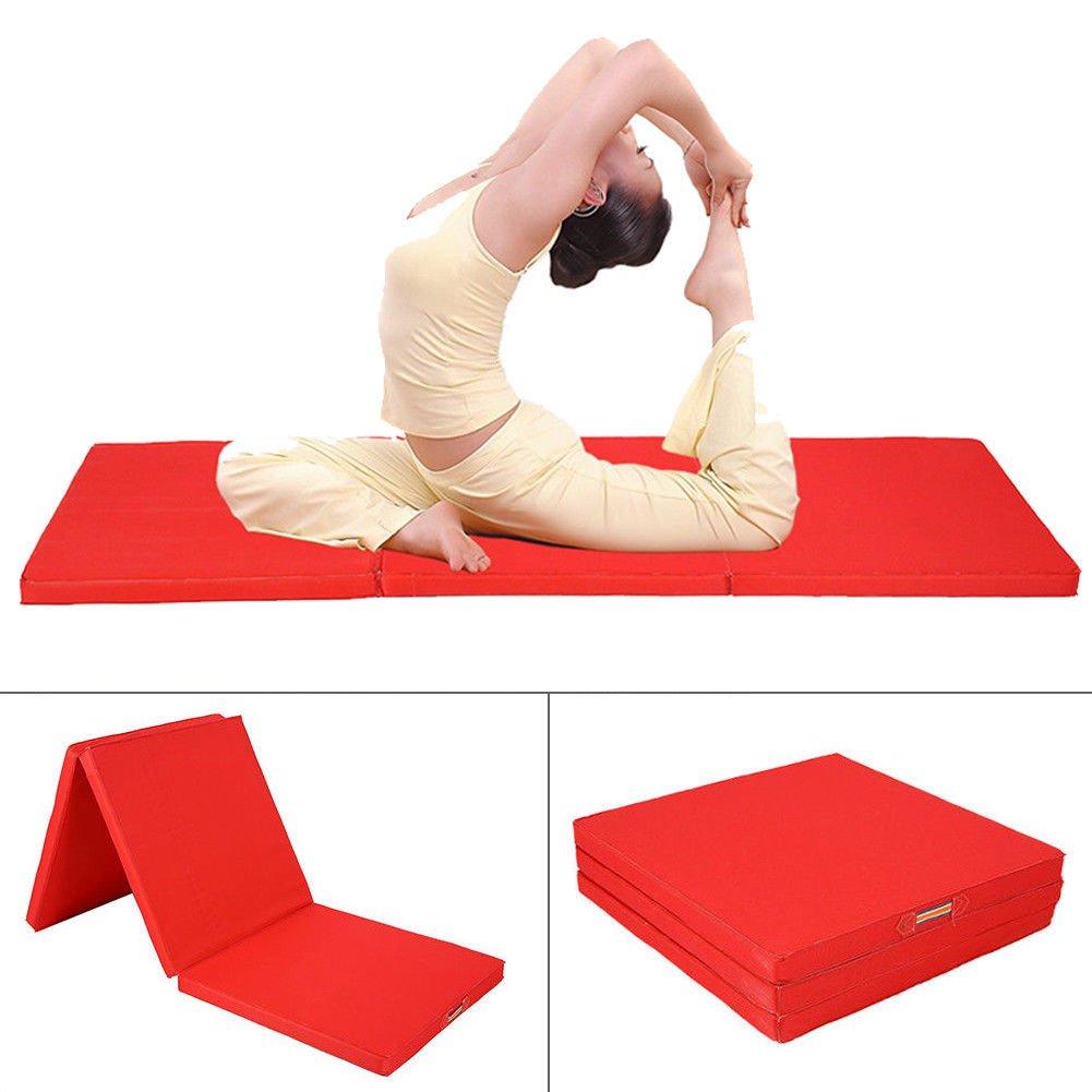 Yosoo alfombrilla plegable de ejercicio/Gimnasia/Pilates/Mat ...