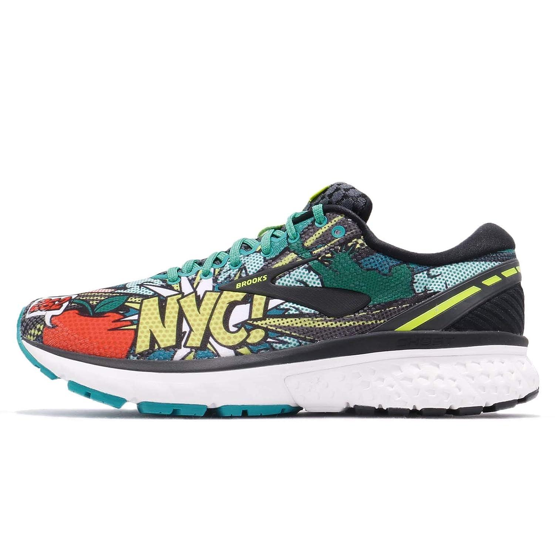 041Uk NycMen's 11 Brooks ShoesMulticolorblackgreenpopart Ghost Running POZNkX8n0w